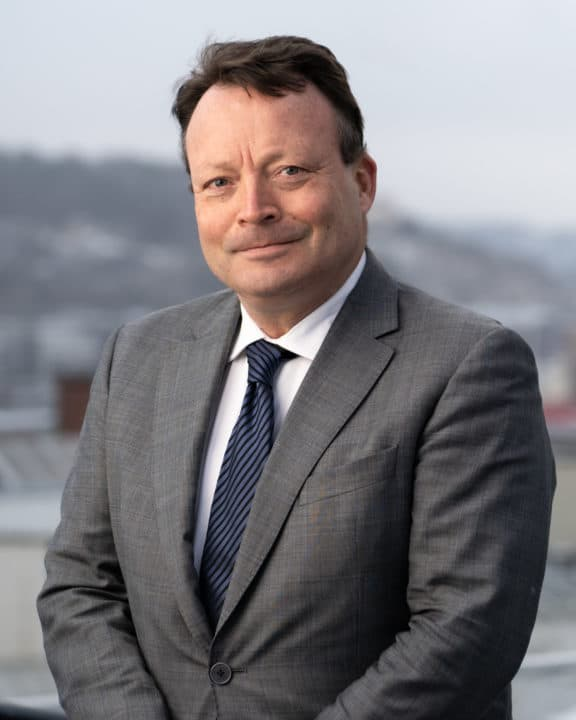 Harald Fosse er ny partner i entreprise avdeling hos Hjort