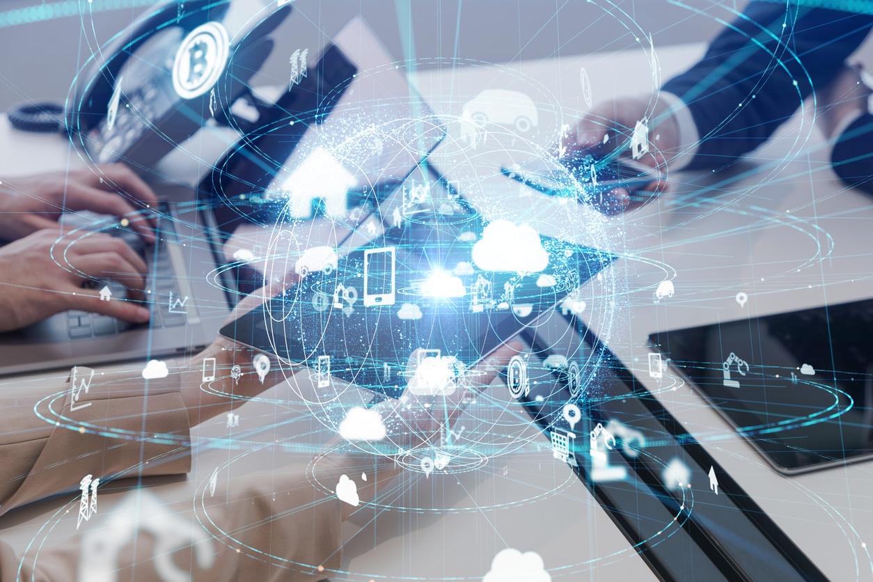 bilde av digital og offentlig IT løsning